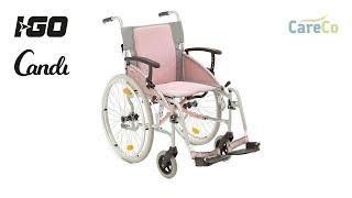 I-Go Candi Self Propelled Wheelchair