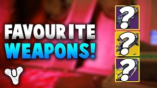 "#Destiny: ""FAVOURITE WEAPONS!"" Destiny My 3 Favourite Weapons! (Destiny Crucible Gameplay) #Gaming"