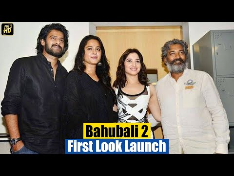 Watch Bahubali 2 trailer first look launch