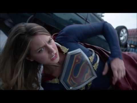 Supergirl and Superman fight Metallo | Supergirl