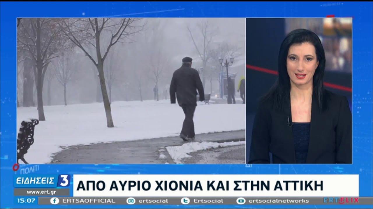 Λευκή επιδρομή της «Μήδειας» σε Βόρεια και Κεντρική Ελλάδα | 13/02/21 | ΕΡΤ