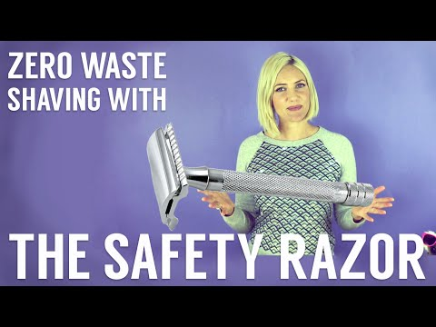 Plastic-Free Shaving with the Safety Razor: Zero Waste Tip #4 with Katie