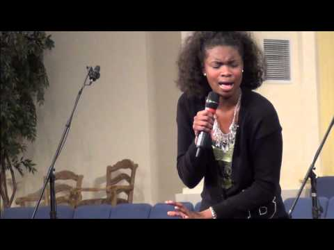 "16 yrs. old Gospel Recording Artist Joy J The Princess of Gospel"" Singing Everything by Tye Tribbett"
