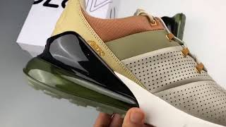 brand new 6db98 18137 Nike Air Max 270 Premium String Desert Ochre A0O8283-20