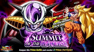 STAGE 4 DES LR FRIEZA EVENTS - F2P TEQ TEAM SHOWCASE! DBZ Dokkan Battle