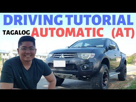 Paano mag Drive ng Automatic Car : Driving Tutorial Automatic transmission AT Tagalog