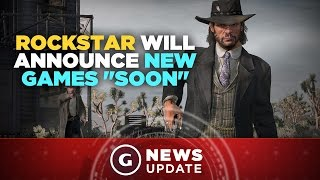 "GTA 5, Red Dead Redemption Developer Rockstar Will Announce New Games ""Soon"" - GS News Update"