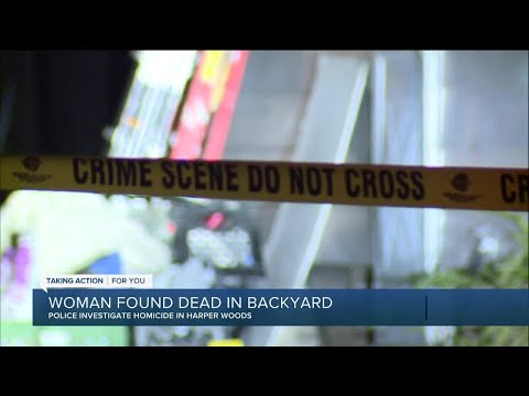 Woman found dead in backyard in Harper Woods