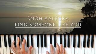 Find Someone Like You   Snoh Aalegra Piano Cover