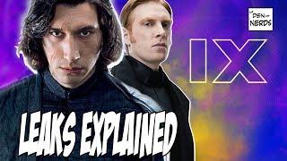 Star Wars Episode 9 Leaks Explained | Kylo Ren's Empire