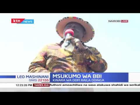 Mskumo wa BBI: Raila azuru maeneo ya Roysambu  kupigia debe mchakato wa BBI