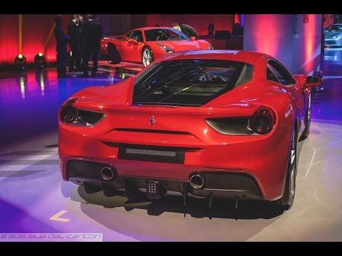 Ferrari 488 GTB - Exclusive First View & Engine Sound