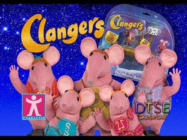 EXCLUSIVE REVIEW Clangers The Music Boat toy, Major Clanger & Tiny by DTSE
