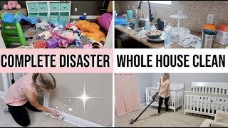 *CRAZY MESS * COMPLETE DISASTER WHOLE HOUSE CLEAN WITH ME 2019 | CLEANING MOTIVATION | EXTREME CLEAN