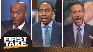 Who will win the AFC South? Stephen A., Max Kellerman and Louis Riddick debate | First Take | ESPN