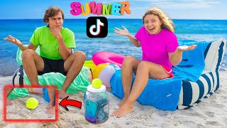 Testing 10 Viral Summer TikTok Life Hacks (Will They Work??)