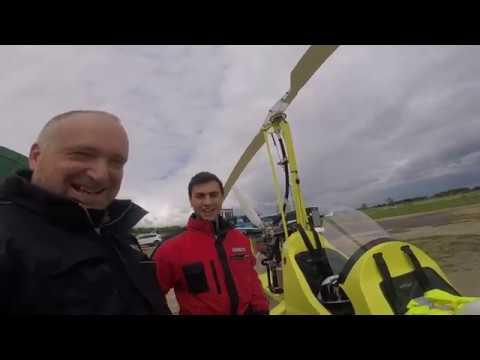 Gyroplane / gyrocopter fly-in  Old Warden 2018 - смотреть онлайн на