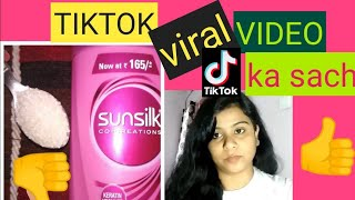 Sunsilk Biotin Ad Girl