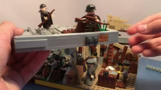 Lego самоделка Сталинград, атака сопротивления. Вторая мировая война, 1943 г.