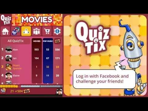 Video of QuizTix: Movies Quiz