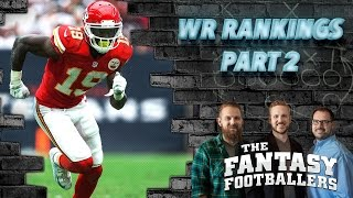 Fantasy Football 2016 - WR Rankings Part 2, Fantasy News, Review-a-Saurus - Ep. #244