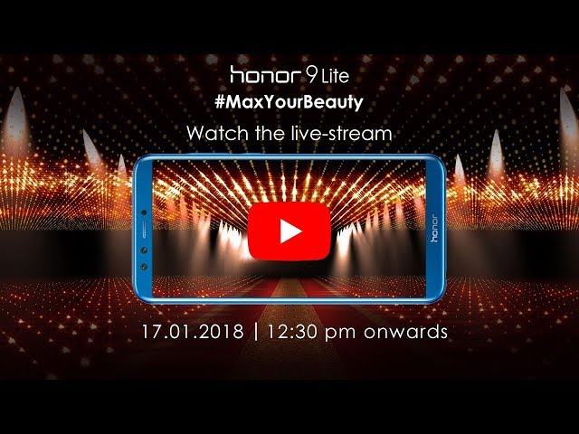 Honor 9 Lite India Launch Set for Today: Live Stream