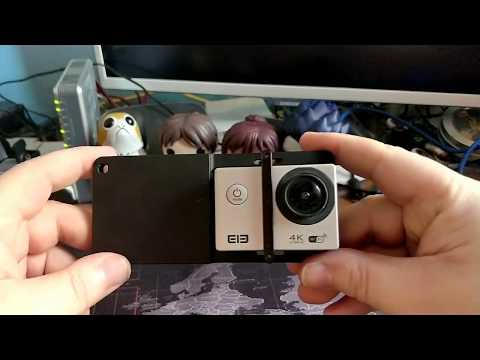 Adapter of action camera for Gimball (Zhiytun) - UNBOXING (by Banggood)