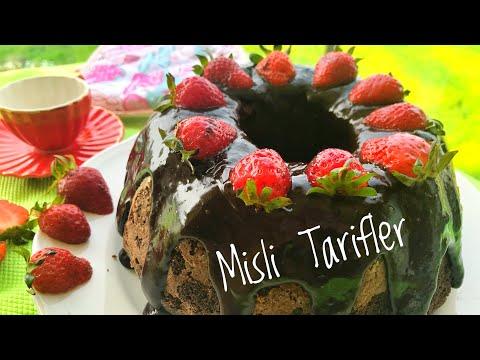 🍓Fındıklı Çikolatalı Kek   Yumuşacık bir kek  Asla Bir Dilim Yetmiyor 😍😋 ❗️