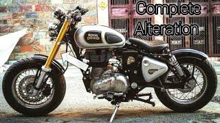 royal enfield chopper modified bike india - TH-Clip