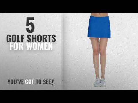 Top 10 Golf Shorts For Women [2018]: Women's Golf Underneath Shorts Skorts