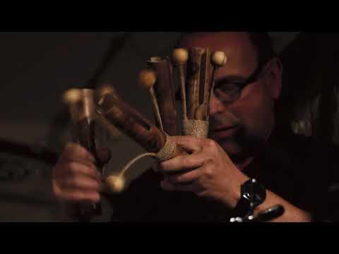 Lucas Niggli SOLO Drums Alchemia Garden online metal music video by LUCAS NIGGLI