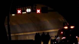 preview picture of video 'R1: Tunel Lochkov - hlášení: požár'