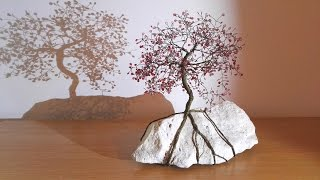 Making wire tree - fast & easy way