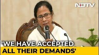 Accept Demands, Return To Work, Mamata Banerjee Tells Doctors