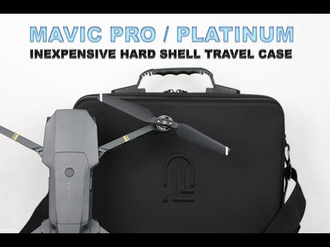 MAVIC PRO & PLATINUM HARD SHELL SHOULDER TRAVEL CASE – Review and Demo