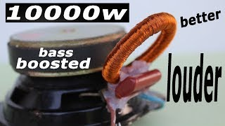 How to Increase Subwoofer Bass, Speaker Louder and Bass boost