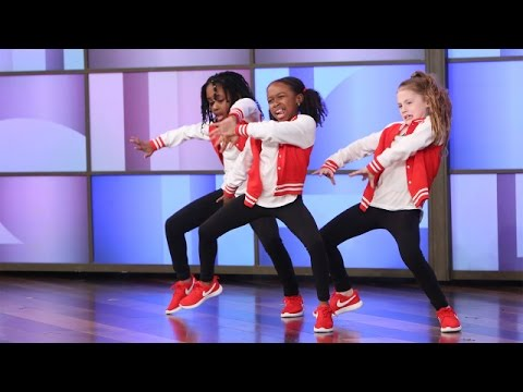 A Terrific Dancing Trio Performs!