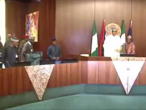 Buhari meets governors
