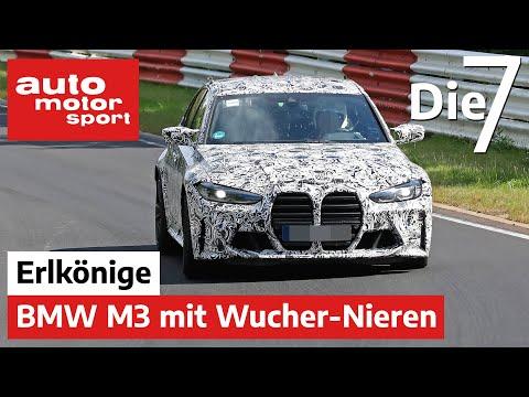 Auch der BMW M3 bekommt Monster-Nieren: 7 heiße Sommer-Erlkönige | auto motor sport