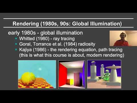 Online Computer Graphics II: Rendering: Introduction and Overview ...