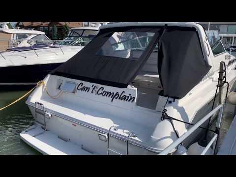Sea Ray 420 Sundancer video