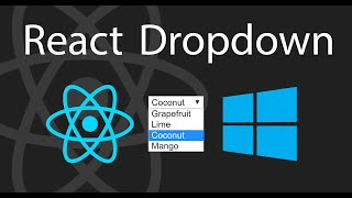 How to Create a Simple React Dropdown   Part 1