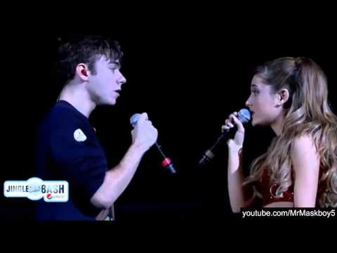 Ariana Grande And Nathan Sykes - Almost Is Never Enough At Jingle Bash 2013