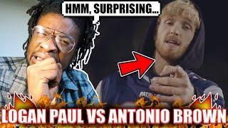 I'M SHOCKED !   Logan Paul - GOING BROKE (Antonio Brown Diss Track) REACTION