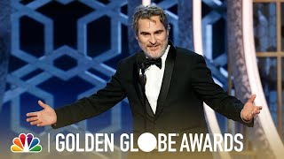 Joaquin Phoenix: Best Actor, Motion Picture, Drama: 2020 Golden Globes