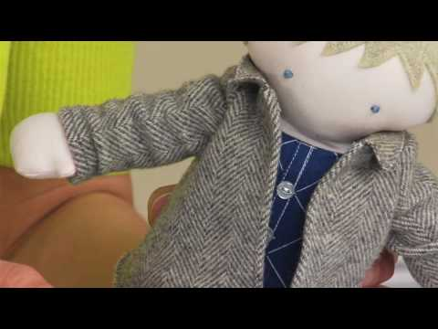Part 2: Making Doll Jackets with Sizzix and Kerry Goulder