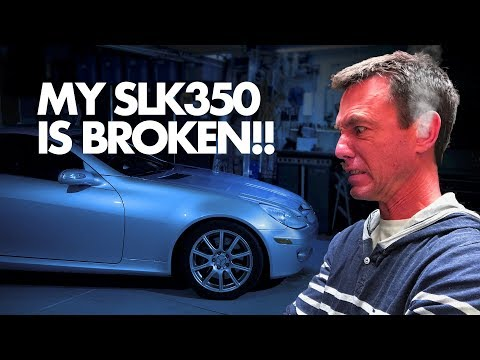 How to Fix the Air Conditioning on a Mercedes SLK350 | Between The Wheels
