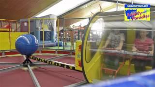 preview picture of video 'Indoorspielplatz Family Paradise in Leverkusen mit neuer Attraktion: Family Roller'