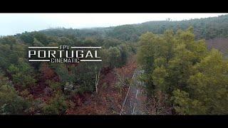 4K FPV Cinematic - Rainy Day. Portugal