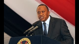 President Uhuru Kenyatta talks ill about the presidential debate